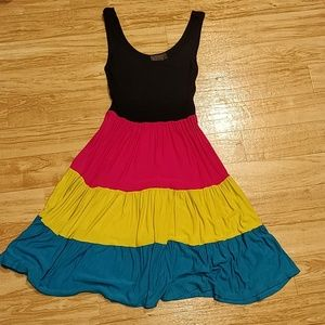 Fun brightly colored dress!
